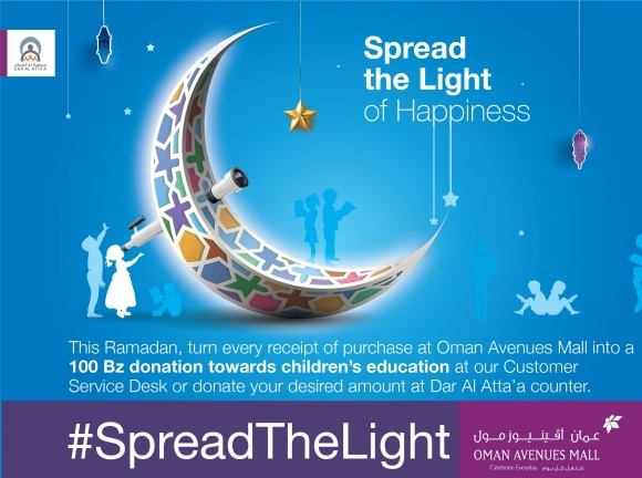 #SpreadTheLight